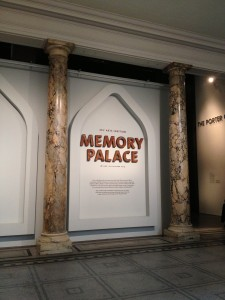 "Entrance to ""Memory Palace"", Porter Gallery, Victoria and Albert Museum."