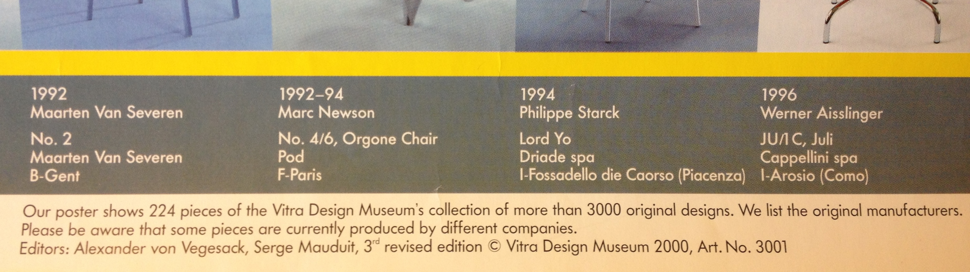 Poster vitra design museum - Poster From The Collection Of Liz Farrelly