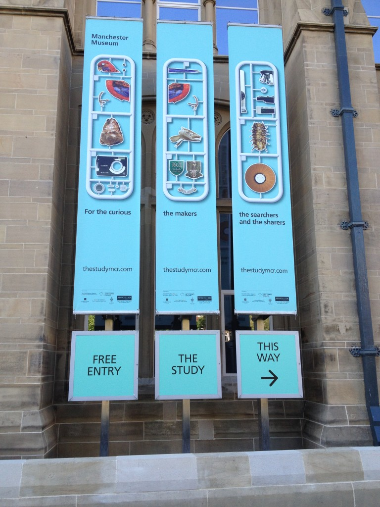 Manchester Museum; an ethnographic museum classifies its visitors...