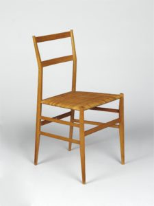 Superleggera; 699, designed in 1957 by Gio Ponti. CIRC.325-1970. (Accessioned by the Circulation Department in 1970). ©Victoria and Albert Museum, London