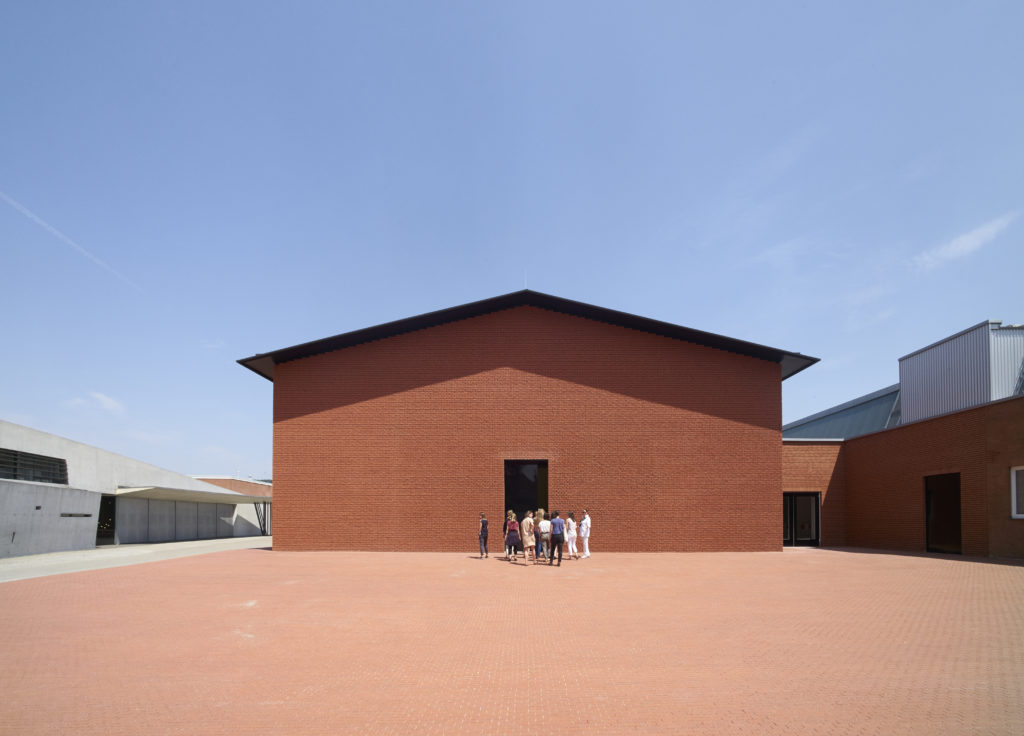 Exterior of the Vitra Schaudepot, by Herzog & de Meuron. Photo © Vitra Design Museum, Julien Lanoo