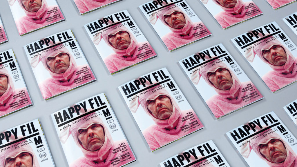 'The Happy Film', DVD packaging, by Sagmeister & Walsh.
